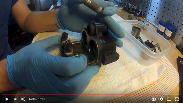 Classic Honda Caliper Rebuild - Part 2 Cleaning