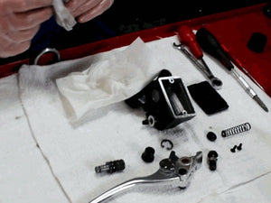 Motorcycle Front Master Cylinder Rebuild - Part 2 Reassembly