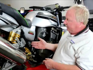 Five-Point Motorcycle Brake Inspection