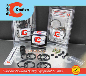 Brakecrafters Caliper Rebuild Kit 1986 - 1987 HONDA VFR700F INTERCEPTOR - REAR BRAKE CALIPER NEW STAINLESS STEEL PISTON & SEAL KIT