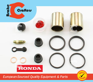 Brakecrafters Caliper Rebuild Kit 1986 - 1987 HONDA VFR700F INTERCEPTOR - REAR BRAKE CALIPER NEW PISTON & SEAL KIT