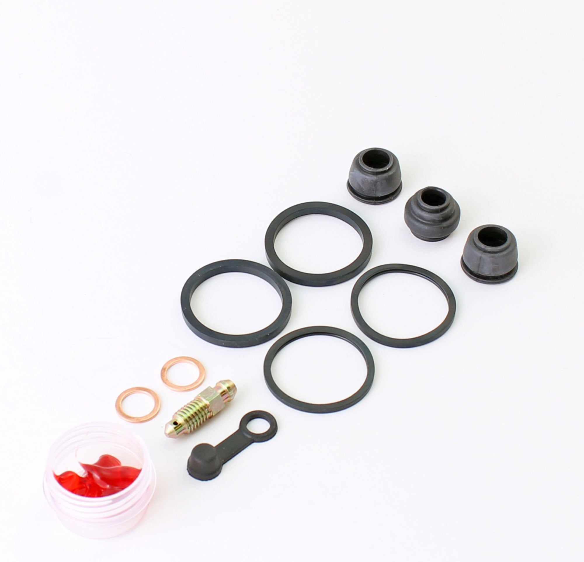 Brakecrafters Caliper Rebuild Kit 1984 - 1986 Honda VF1000 Interceptor - Front Brake Caliper Seal Kit