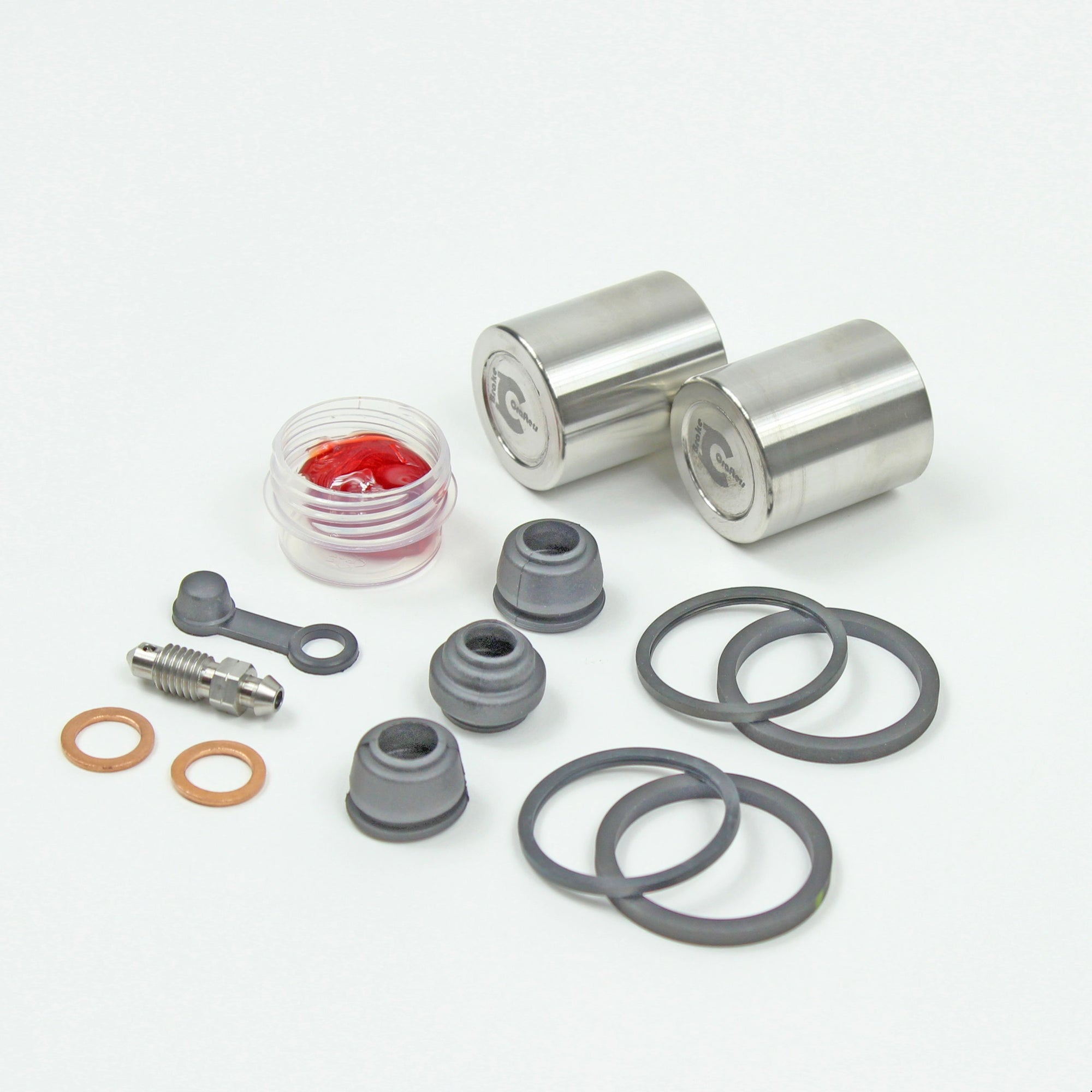 Brakecrafters Caliper Rebuild Kit 1984 - 1986 Honda VF1000 Interceptor - Front Brake Caliper Seal & Stainless Steel Piston Kit