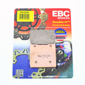 Brakecrafters Brake Pads 1988 - 1993 Suzuki GSX1100F Katana - Rear EBC HH Rated Sintered Brake Pads - 1 Pair