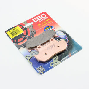 Brakecrafters Brake Pads 1986 - 1987 Honda CMX450C Rebel - Front EBC HH Rated Sintered Brake Pads - 1 Pair