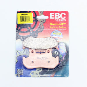 Brakecrafters Brake Pads 1982 Honda CX500TC Turbo - Rear EBC HH Rated Sintered Brake Pads - 1 Pair