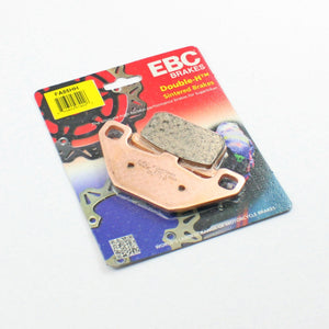 Brakecrafters Brake Pads 1987 - 1995 Kawasaki VN1500 Vulcan 88 - Rear EBC HH Rated Sintered Brake Pads - 1 Pair
