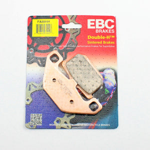 Brakecrafters Brake Pads 2006 Kawasaki ZG1000 Concours - Rear EBC HH Rated Sintered Brake Pads - 1 Pair