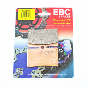 Brakecrafters Brake Pads EBC FA95HH Rated Sintered Brake Pads - 1 Pair