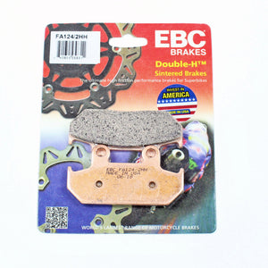 Brakecrafters Brake Pads EBC FA124HH Rated Sintered Brake Pads - 1 Pair