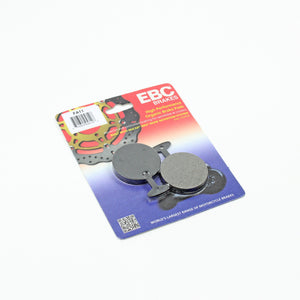 Brakecrafters Brake Pads 1976 - 1978 YAMAHA RD400 - REAR EBC PERFORMANCE ORGANIC BRAKE PADS - 1 PAIR