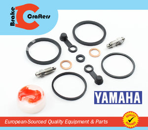 Brakecrafters Caliper Rebuild Kit 1988 - 1990 YAMAHA FZR400 - REAR BRAKE CALIPER REBUILD NEW SEAL KIT