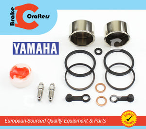 Brakecrafters Caliper Rebuild Kit 1983 - 1984 YAMAHA XVZ12 VENTURE - FRONT BRAKE CALIPER REBUILD PISTON & SEAL KIT