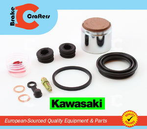Brakecrafters Caliper Rebuild Kit 1981-1983 KAWASAKI KZ550 (A2-A4) FRONT BRAKE CALIPER NEW PISTON & SEAL KIT