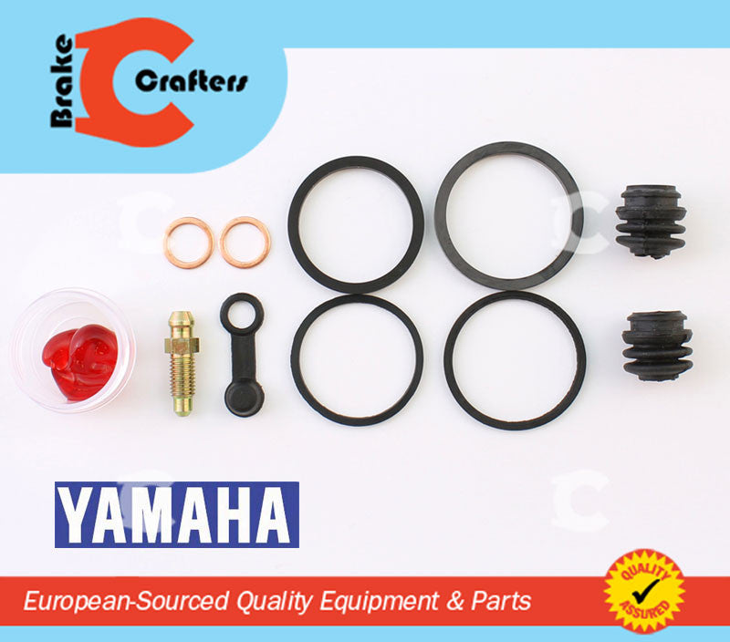 Brakecrafters Caliper Rebuild Kit 2003 - 2010 YAMAHA XVS 650 V-STAR SILVERADO FRONT BRAKE CALIPER NEW SEAL KIT