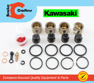 Brakecrafters Caliper Rebuild Kit 2003 - 2004 KAWASAKI ZZR600 ZX 600 ZZR 600 FRONT BRAKE CALIPER PISTON & SEAL KIT