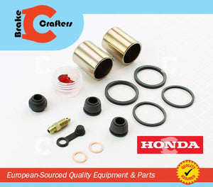 Brakecrafters Caliper Rebuild Kit 1987 - 1991 HONDA CBR1000F HURRICANE - REAR BRAKE CALIPER NEW PISTON & SEAL KIT