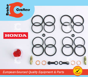 Brakecrafters Caliper Rebuild Kit 1999 2007 HONDA CBR 600F4/F4i FRONT BRAKE CALIPER NEW SEAL KIT