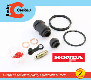 Brakecrafters Caliper Rebuild Kit 1991 - 1994 HONDA CBR600F HURRICANE - REAR BRAKE CALIPER NEW SEAL KIT