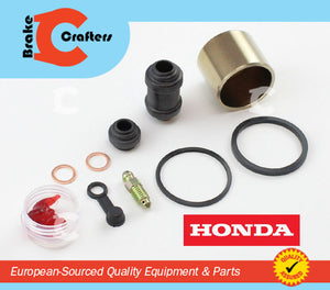 Brakecrafters Caliper Rebuild Kit 2013 - 2015 HONDA CBR500R - REAR BRAKE CALIPER PISTON AND SEAL KIT