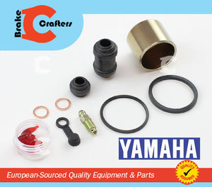 Brakecrafters Caliper Rebuild Kit 2015 - 2016 YAMAHA FZ-07 - REAR BRAKE CALIPER PISTON & SEAL KIT
