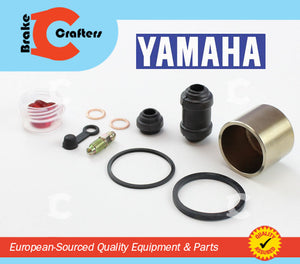 Brakecrafters Caliper Rebuild Kit 2011 - 2013 YAMAHA FZ8N 'FZ-8' - REAR BRAKE CALIPER PISTON & SEAL KIT