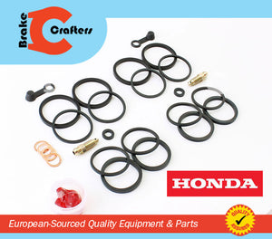 Brakecrafters Caliper Rebuild Kit 2004 - 2007 HONDA CBR 1000RR FRONT BRAKE CALIPER NEW SEAL KIT