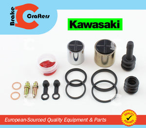 Brakecrafters Caliper Rebuild Kit 1988 - 1997 KAWASAKI ZX600C NINJA 600R REAR BRAKE CALIPER PISTON & SEAL KIT