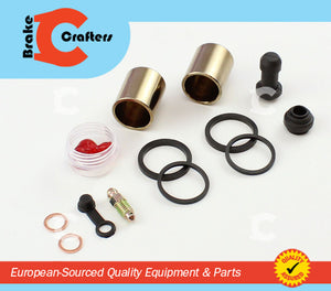 Brakecrafters Caliper Rebuild Kit 1997 - 1998 TRIUMPH DAYTONA T595 - REAR BRAKE CALIPER NEW SEAL & PISTON KIT