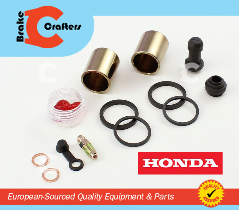 Brakecrafters Caliper Rebuild Kit 2001 - 2014 HONDA VT750 SHADOW SPIRIT - FRONT BRAKE CALIPER NEW SEAL & PISTON KIT