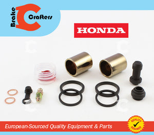 1989 - 1998 HONDA PC800 PACIFIC COAST - FRONT BRAKE CALIPER NEW SEAL & PISTON KIT