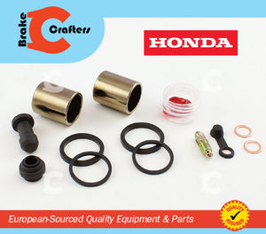 Brakecrafters Caliper Rebuild Kit 1995 - 2001 HONDA VT1100 SHADOW ACE - FRONT BRAKE CALIPER NEW SEAL & PISTON KIT