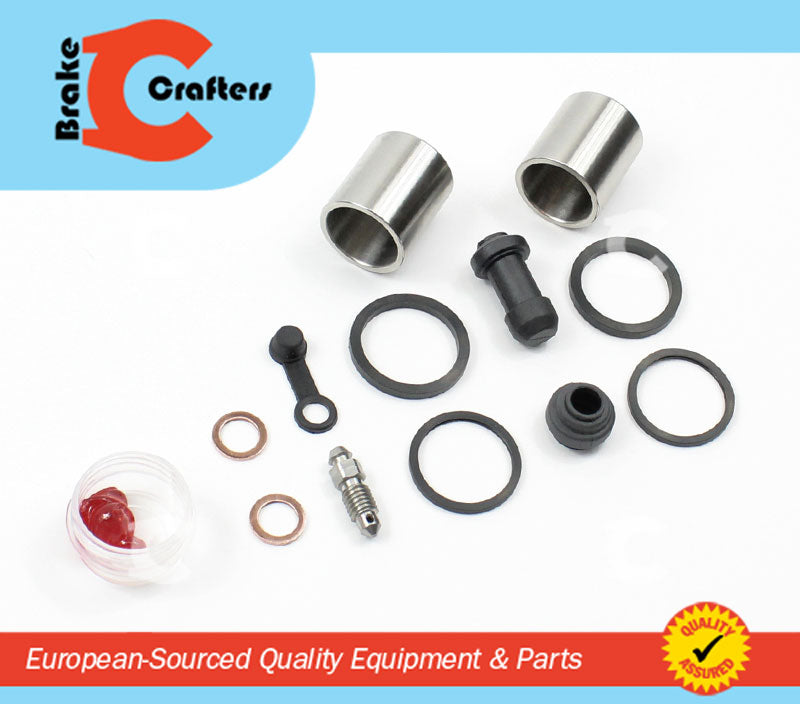 Brakecrafters Caliper Rebuild Kit 1991 - 1994 TRIUMPH TRIDENT 900 - FRONT BRAKE CALIPER NEW SEAL & STAINLESS STEEL PISTON KIT