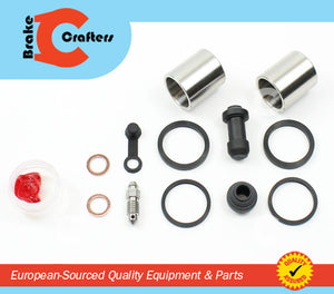 Brakecrafters Caliper Rebuild Kit 1991 - 1994 TRIUMPH TRIDENT 900 - REAR BRAKE CALIPER NEW SEAL & STAINLESS STEEL PISTON KIT