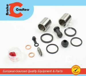 Brakecrafters Caliper Rebuild Kit 2004 - 2010 TRIUMPH THRUXTON 900 - REAR BRAKE CALIPER NEW SEAL & STAINLESS STEEL PISTON KIT