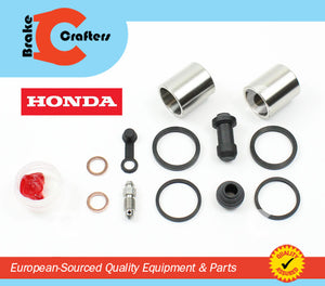 2001 - 2014 HONDA VT750 SHADOW SPIRIT - FRONT BRAKE CALIPER NEW SEAL & STAINLESS STEEL PISTON KIT