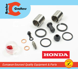 1989 - 1998 HONDA PC800 PACIFIC COAST - FRONT BRAKE CALIPER NEW SEAL & STAINLESS STEEL PISTON KIT