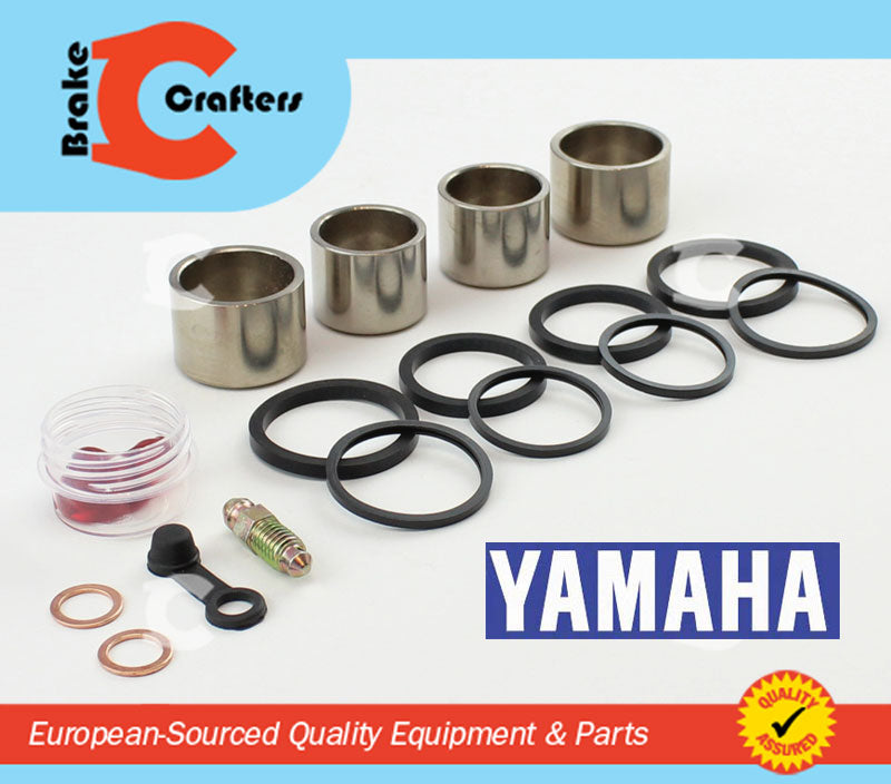 Brakecrafters Caliper Rebuild Kit 2006 - 2013 YAMAHA XV1900 ROADLINER - FRONT BRAKE CALIPER NEW PISTON AND SEAL KIT