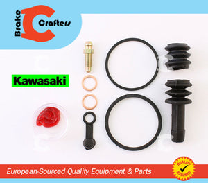 Brakecrafters Caliper Rebuild Kit 1984   1985 KAWASAKI GPz 750 (ZX750E) TURBO  REAR BRAKE CALIPER SEAL REBUILD KIT