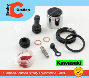 Brakecrafters Caliper Rebuild Kit 1988 - 1993 KAWASAKI EX500B GPz500 NINJA - FRONT BRAKE CALIPER PISTON & SEAL KIT