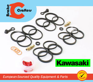 Brakecrafters Caliper Rebuild Kit 2003 - 2008 KAWASAKI VULCAN VN 1600 MEAN STREAK FRONT BRAKE CALIPER SEAL KIT