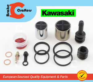 Brakecrafters Caliper Rebuild Kit 1996 - 1997 KAWASAKI ZL600B ELIMINATOR FRONT BRAKE CALIPER PISTON & SEAL KIT