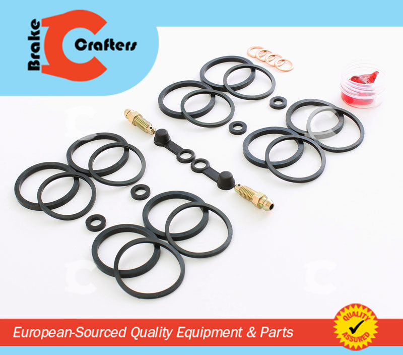 BRAKECRAFTERS Calipers & Parts 1997-1998 TRIUMPH DAYTONA T595 BRAKECRAFTER FRONT BRAKE CALIPER REBUILD KIT