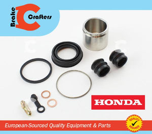 Brakecrafters Caliper Rebuild Kit 1978 HONDA GL1000 GOLDWING - FRONT BRAKE CALIPER SEAL & STAINLESS STEEL PISTON KIT