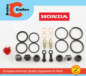 Brakecrafters Caliper Rebuild Kit 1984 - 1987 HONDA GL1200 GOLDWING - FRONT BRAKE CALIPER NEW SEAL KIT