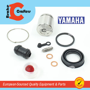 Brakecrafters Caliper Rebuild Kit 1977 - 1983 YAMAHA XS650 - FRONT BRAKE CALIPER STAINLESS STEEL PISTON & SEAL KIT