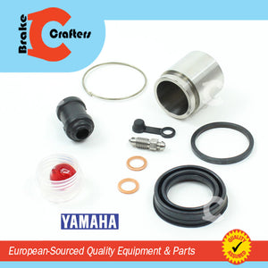 Brakecrafters Caliper Rebuild Kit 1982 YAMAHA XJ650RJ SECA - FRONT BRAKE CALIPER STAINLESS STEEL PISTON & SEAL KIT