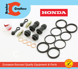 1989 - 1998  HONDA PC 800 PACIFIC COAST - FRONT BRAKE CALIPER NEW SEAL KIT