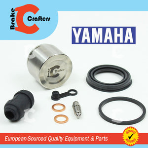 Brakecrafters Caliper Rebuild Kit 1980 - 1981 YAMAHA XS400S SPECIAL - FRONT BRAKE CALIPER SEAL & STAINLESS STEEL PISTON KIT