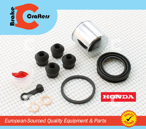 Brakecrafters Caliper Rebuild Kit 1978 HONDA CB400A HONDAMATIC - FRONT BRAKE CALIPER NEW STAINLESS STEEL PISTON & SEAL KIT